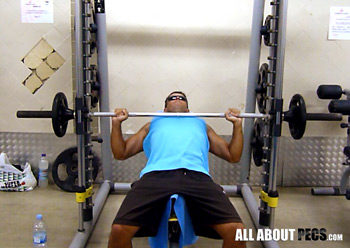 The Smith Machine should be used to complement your incline barbell presses