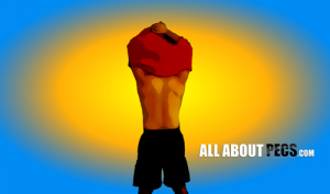 T-shirt off in summer and tan those pecs