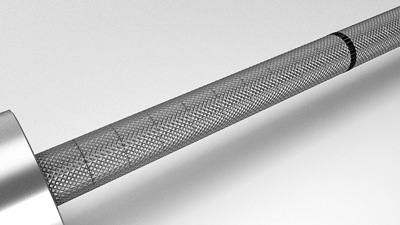 knurl of an Olympic bar