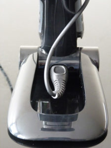 Mains Charging Cable Plugs Into Charging Stand