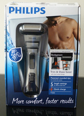 Philips Norelco Bodygroom Series 7100 Box